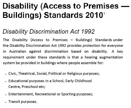 Disability Discrimination Act 1992